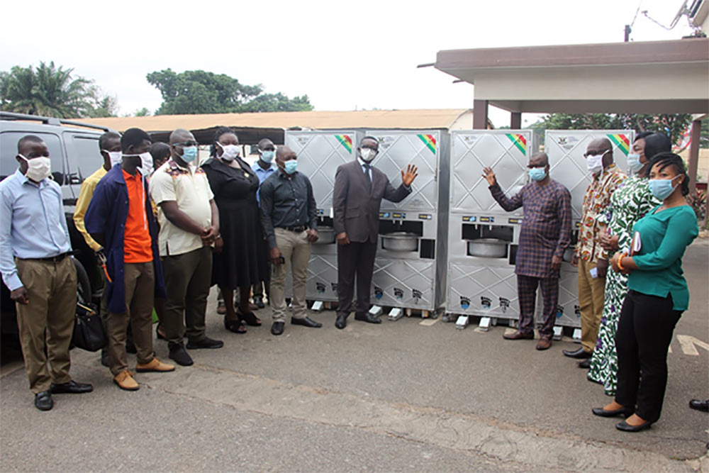 KsTU Donates Foot-Operated-Hand-Washing-Machines