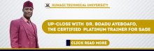 Up-Close With Dr. Boadu Ayeboafo, the Certified Platinum Trainer for SAGE